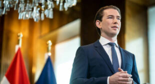 Chancellor Kurz Points Out Austria's Responsibility for World War II