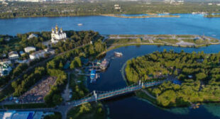 The Mighty Volga: Great Russian River's Best Views