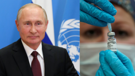 Putin offers UN staff FREE DOSE of Russia's Sputnik V jab as he calls for global meeting on Covid-19 vaccine