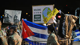 US' failure to recognize Cuba's medical efforts during Covid is due to an innate fear of linking socialism with anything positive