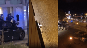 DRAMATIC VIDEOS show running gun battles with police in central Vienna amid suspected terrorist attack 🎞️