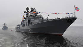 Are you invading, or just lost? Russian navy threatens to ram US warship 'John McCain' after it crosses border near Vladivostok