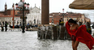 Venice Hit by Heavy Floods for Second Year in a Row