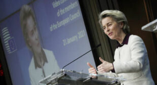 Von der Leyen's Engagement With Russia on Vaccine Attempt to 'Save Face', EU Lawmaker Says