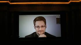 Keynote speaker Snowden crashes 'elite' business investment seminar, urges public NOT to give organizer money
